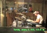 Stew in the drum booth