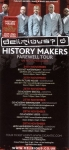 History Makers Farewell Tour Flyer