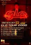 Glo Tour Flyer