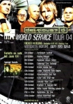 World Service UK Tour Flyer