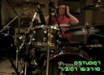 Stew at the drums