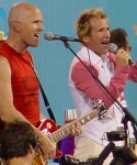 Stu G and Martin singing together